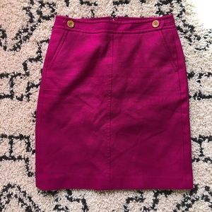Pink Pencil Skirt Talbots